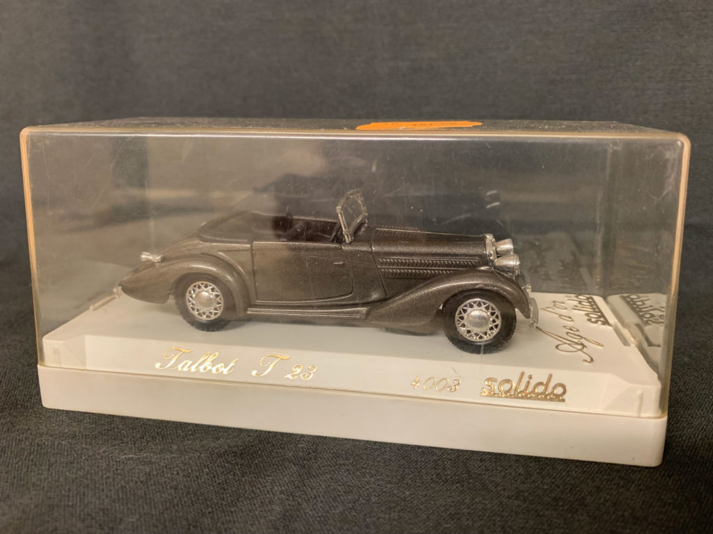 SOLIDO ÂGE D'OR - 1/43 - Talbot T 23